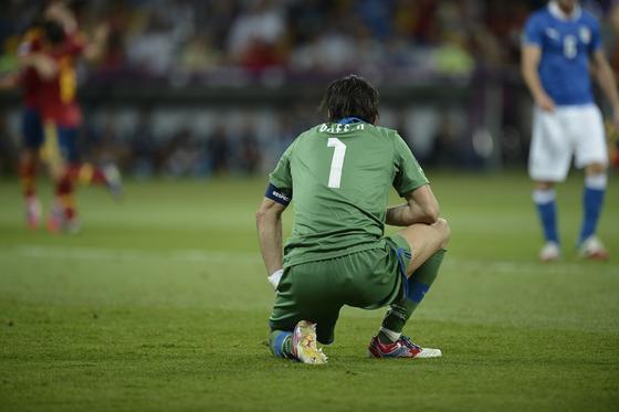 Las imágenes de la final de la Eurocopa 2012