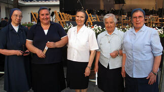 Las hermanas de la Caridad de San Vicente de Paul.  Foto: Victoria Ramírez
