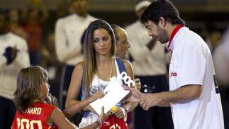 Imágenes del amistoso España-EEUU.  Foto: EFE