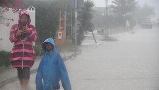 Las lluvias dejaron inundaciones en los municipios de Conil, Benalup y Vejer, donde cayeron 200 litros por metro cuadrado  Foto: Manuel Aragón Pina