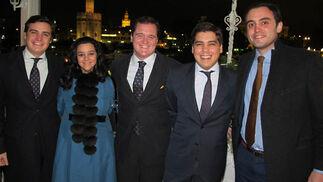Antonio Cuesta, María Fernández-Cabrero (Ernst & Young), Tomás del Castillo, letrado de la Junta de Andalucía; Javier Cuesta y Miguel Bermudo (Ernst &Young).  Foto: Victoria Ramírez