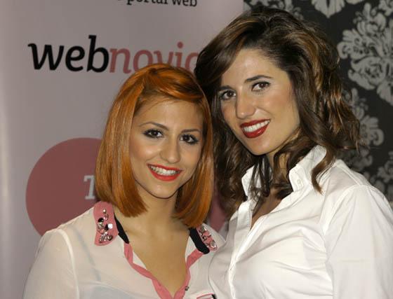 Ruth Álvarez y Barbara Millán, estilistas de Bárbara Millán Peluquería (Dos Hermanas).  Foto: Victoria Ramírez