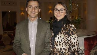 Miguel Ángel Llorente y Julia Rodríguez, de la Hacienda de Orán.  Foto: Victoria Ramírez