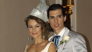 Mónica Martínez y Antonio David Barroso.  Foto: Victoria Ramírez