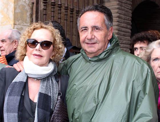 El presidente de Ayesa, José Luis Manzanares Japón, con su esposa.  Foto: Victoria Ramírez