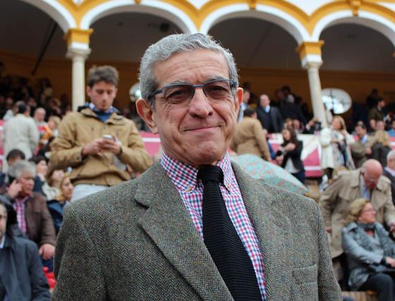 Braulio Medel, presidente de Unicaja.  Foto: Victoria Ramírez