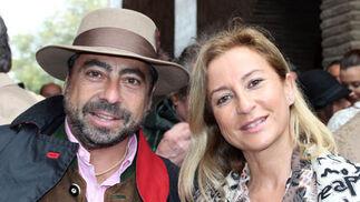 Pepe García de Tejada y Victoria Hidalgo.  Foto: Victoria Ramírez