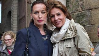 La modelo y empresaria Nieves Álvarez y Nuria González.  Foto: Victoria Ramírez