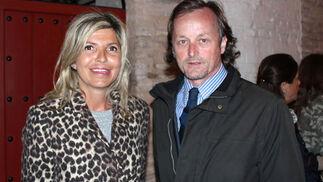 Patricia Guibert y Fernando Murube (El Corte Inglés).  Foto: Victoria Ramírez