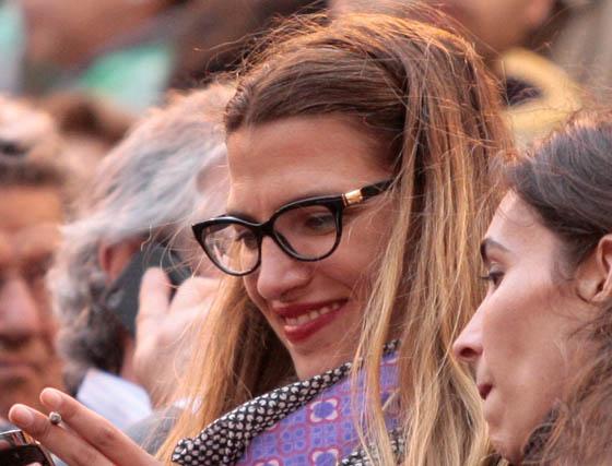 La modelo Laura Sánchez.  Foto: Victoria Ramírez