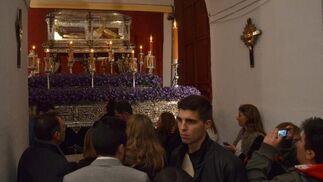 Plaza del Banco, Tornería y Porvera devolvieron la Soledad a la Iglesia de la Victoria  Foto: Manuel Aranda· Manu Garcia