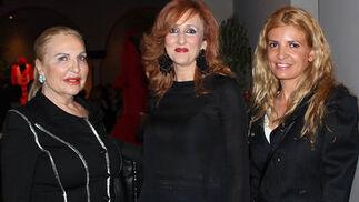 Pepa Auden, Asunción Mena y Rocío Martínez.  Foto: Victoria Ramírez