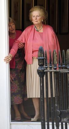 Margaret Thatcher, en 2009.  Foto: EFE