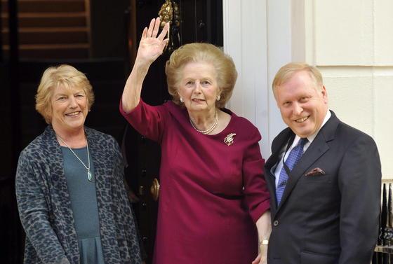 Margaret Thatcher, en 2010.  Foto: EFE