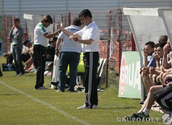 La Balona vence al Betis B con un 'hat-trick' de David Hernández.  Foto: Juan Carlos Muñoz