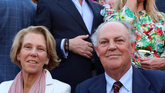 Miriam Benjumea y José Joaquín Abaurre.  Foto: Victoria Ramírez