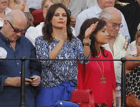 La ex miss España María José Suárez.  Foto: Victoria Ramírez