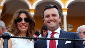 Raquel Revuelta y el torero 'El Tato'.  Foto: Victoria Ramírez