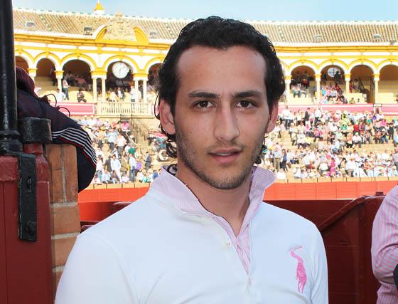 El novillero Daniel Muñoz.  Foto: Victoria Ramírez