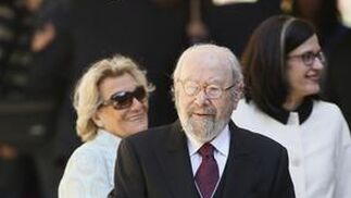 José Manuel Caballero Bonald, a su llegada a la Universidad de Alcalá de Henares. / José Ramón Ladra