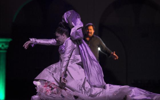 Imágenes del espectáculo 'Persuasión y devoción'. / Antonio Pizarro
