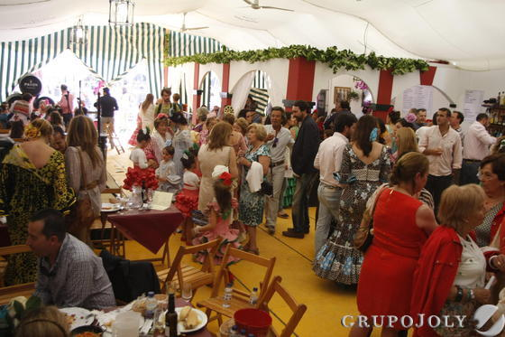 El segundo premio, La Charanga, buscó inspiración en La Rioja para su decoración.  Foto: Andres Mora - Fito Carreto