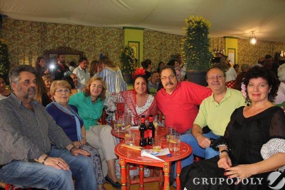 Susan Briggs, Rafael Cienfuegos, Vlado Braskovic, Pilar Herrera, Pepita Arenas y José María Leal.