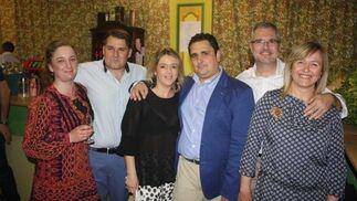 Luis Fregenal, Irene López, José Luis Bernardo, Inés López, Sergio Márquez e Isabel Tejada.
