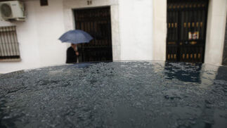También ha granizado en la zona en las últimas horas  Foto: J. Flores