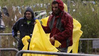 Mounir el-Ouardi y su esposa Nazha Machrouh vencen en los Agustinos.  Foto: Pepe Villoslada