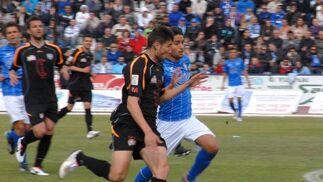 El San Fernando empató en casa con el Arroyo (0-0) pero mantiene el cuarto puesto.  Foto: Rioja