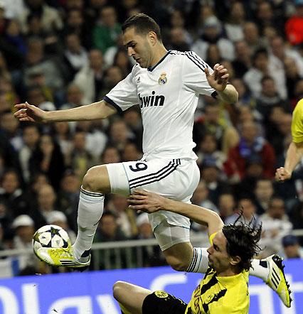 Las imágenes del Real Madrid-Borussia