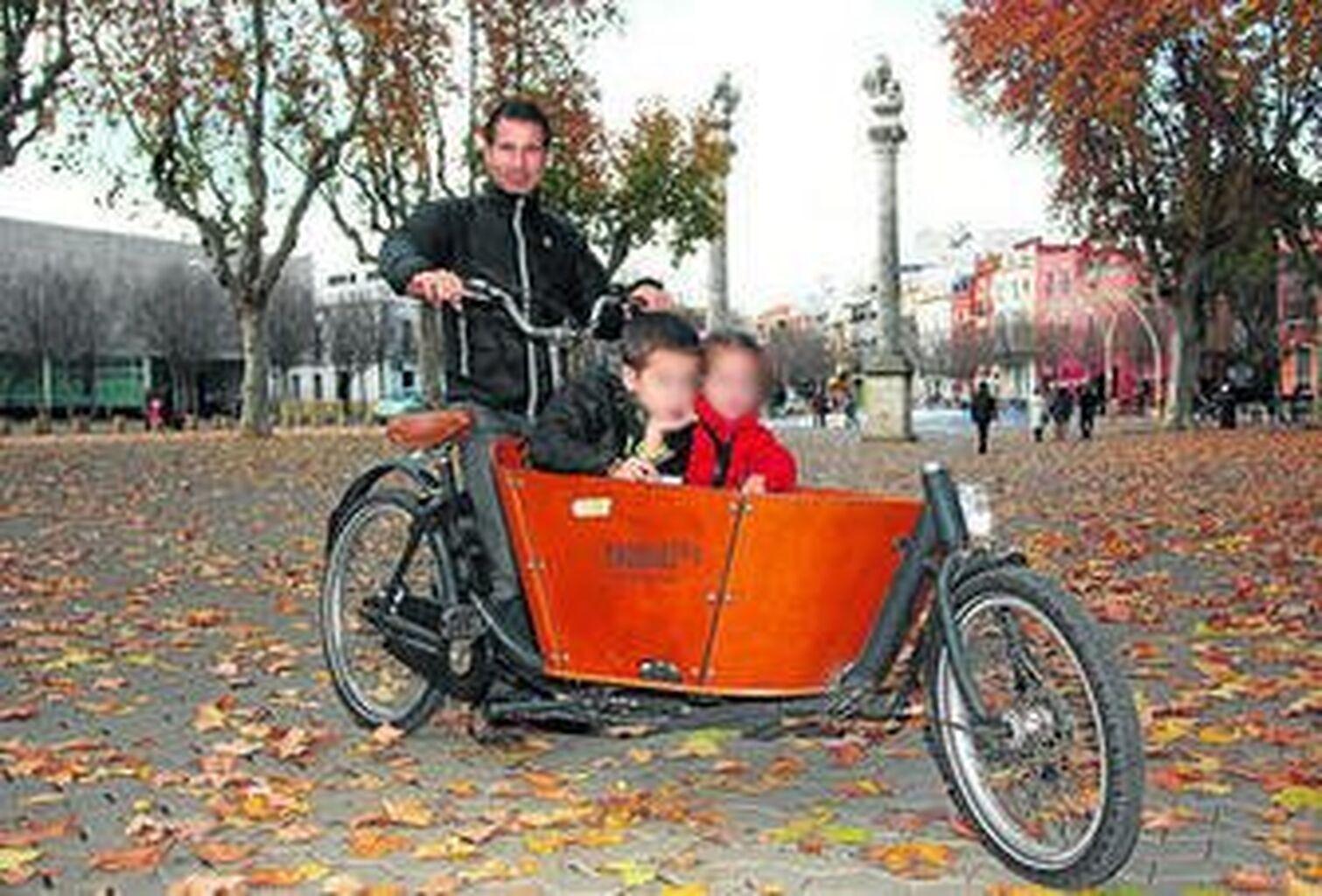 8a8efe8764 La bicicleta de carga empieza a conquistar Sevilla