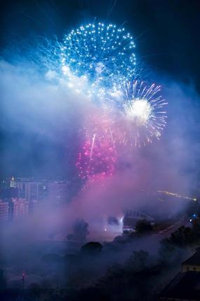 Las mejores imágenes de la 'Cremá' de las Fallas 2014