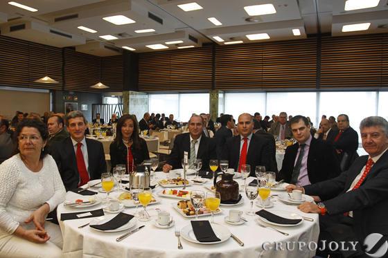 Teresa Reyes, José Antonio Ramírez, Silvia Guijarro, Manuel Salado, Roberto Felipe Valhondo, Ignacio Padial y Manuel Luna.  Foto: Joaquín Pino · Lourdes de Vicente