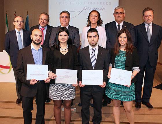 Premio de Investigación 'CicCartuja Ebro Foods'