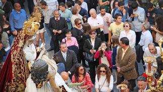Las Angustias es un ejemplo de cofradía fiel al estilo heredado de sus mayores.  Foto: Vanesa Lobo