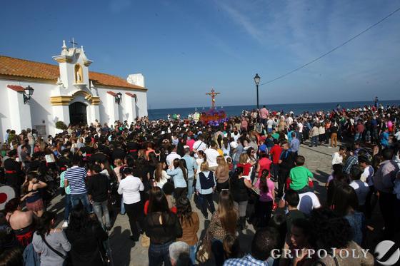 Cristo del Mar en La Línea  Foto: Paco Guerrero