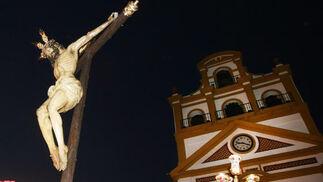 Cristo de Misericordia en La Línea  Foto: Paco Guerrero