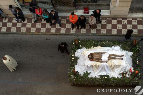 Santo Entierro en La Línea  Foto: Paco Guerrero