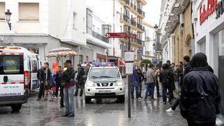 Siete aficionados del XDFC, heridos tras sufrir una encerrona en Chiclana  Foto: Sonia Ramos