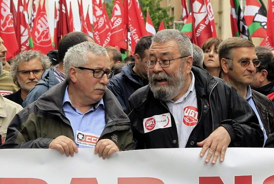 Manifestación del Primero de Mayo en Bilbao.  Foto: EFE