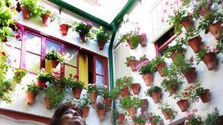 Patio de la calle Diego Méndez, 8.  Foto: Barrionuevo