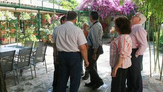 Patio de la plaza de las Tazas, 11.  Foto: Barrionuevo