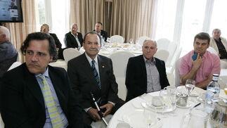 José Mª Terres, Manuel Abad, Francisco Abad y Rafael Coronado  Foto: Javier Alonso / Rafael G.