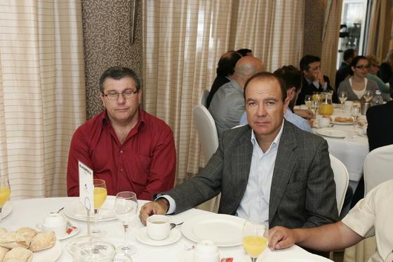 Juan Antonio González y José Manuel Fernández   Foto: Javier Alonso / Rafael G.