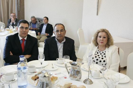 Carlos Castro Vega, Juan José Martín López y María Moreno  Foto: Javier Alonso / Rafael G.