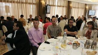 Francisco Belmonte, Francisco Ventura, Javier Fresnada, JOsé Ángel Ortega y Carmen Trini Díaz  Foto: Javier Alonso / Rafael G.