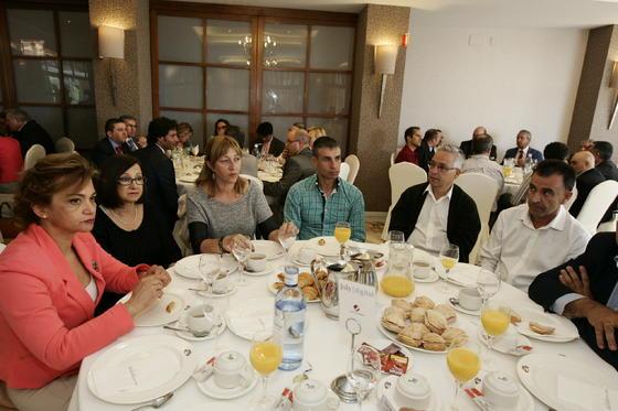 Francisco Iglesias, María Rosa Murcia, Ascensión Requena, Manuel Galdeano Moreno, Manuel Jeréz y Juan Moreno  Foto: Javier Alonso / Rafael G.