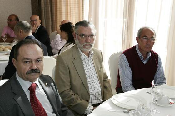 Francisco Torres, José Vicente Simón y Ramón Guerrero  Foto: Javier Alonso / Rafael G.